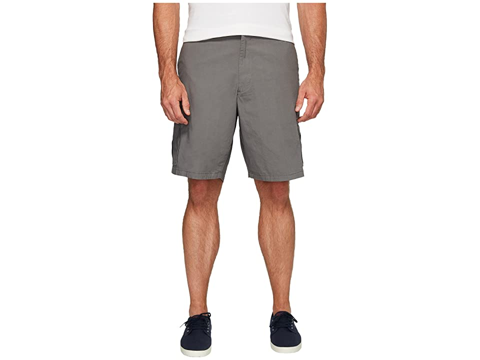 Dockers Big Tall Cargo Shorts (Burma Grey) Men
