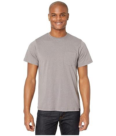United By Blue Short Sleeve Standard Pocket Tee (Steel Grey) Men