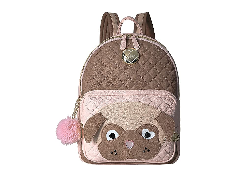 Betsey Johnson Kitsch Backpack (Spice) Backpack Bags