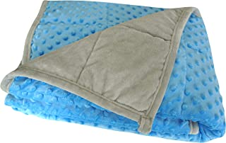 """Oileus 5lb Weighted Blanket for Kids (36""""x 48""""), Soft Calming Weighted Blanket for Boys and Girls (Blue)"""