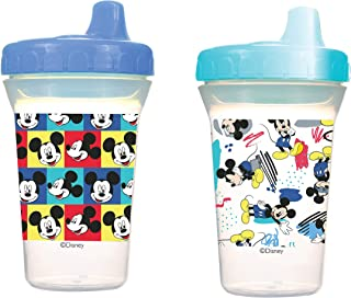 Disney - Baby Sippy Cup, 12 Months+, 300ml, Pack of 2 - Mickey Mouse