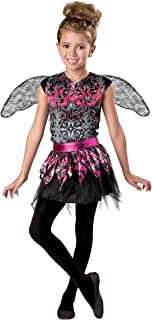 Halloween Girl's Spell Binder Fairy Costume Red and Black