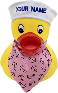 personalized floating rubber ducks