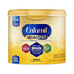 Enfamil NeuroPro Infant Formula - Brain Building Nutrition Inspired by Breast Milk - Reusable Powder