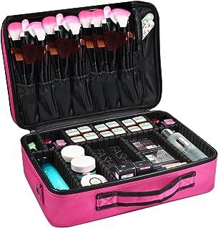 Amazon.es: maletin maquillaje rosa