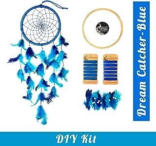 Asian Hobby Crafts DIY Dream Catcher Kit – Make one Complete Dream Catcher ( Blue)