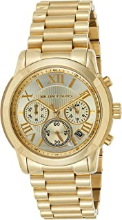Michael Kors Womens Quartz Watch, Chronograph Display and Stainless Steel Strap MK6274