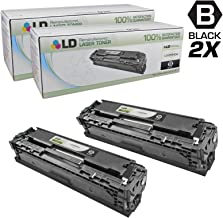 LD Remanufactured Toner Cartridge Replacement for HP CB540A  ( Black , 2 pk )