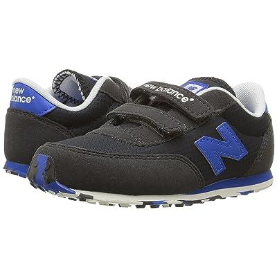 New Balance Kids KE410v1 (Infant/Toddler) (Black/Blue) Boys Shoes