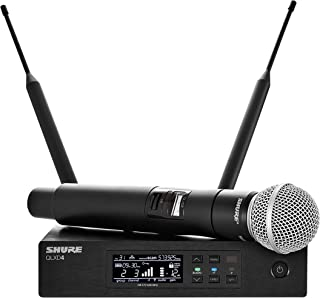 Shure QLXD24/SM58 Handheld Wireless System with SM58 Vocal Microphone, G50