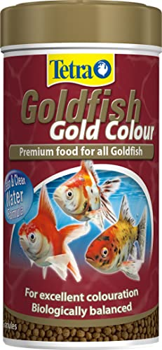 TETRA BITS Goldfish Gold Colour Fish Food, 75 g