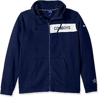 Dallas Cowboys NFL Mens Nike Club Full-Zip Fleece Sweatshirt