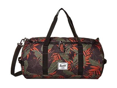 Herschel Supply Co. Sutton (Dark Olive Palm) Duffel Bags
