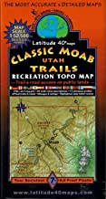 Classic Moab Trails Recreation Topo Map