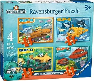 Octonauts 4 in a Box Puzzle Explore! Rescue! Protect!