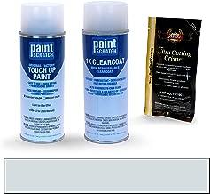 PAINTSCRATCH Light Ice Blue Effect LS for 2009 Mercury Grand Marquis - Touch Up Paint Spray Can Kit - Original Factory OEM Automotive Paint - Color Match Guaranteed