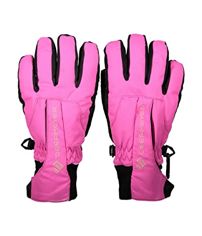 Obermeyer Kids Thumbs Up Gloves (Little Kids/Big Kids) (Pink Power) Extreme Cold Weather Gloves