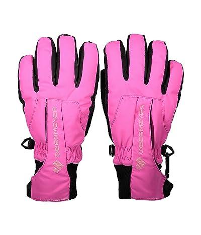 Obermeyer Kids Thumbs Up Gloves (Little Kids/Big Kids) (Pink Power) Extreme Cold Weather Gloves