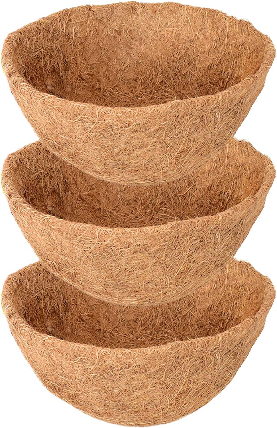 ZeeDix lowest price 3 Pack 14 Inch Hanging 10 Replacement Coco Liners Basket Special price