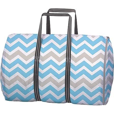 東和産業 洗濯ネット コインランドリー用 ランドリーバッグ ブルー LL 約40×40×55cm 一つで3役 持ち運びに便利 メッシュ生地 22361