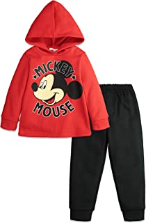 Mickey Mouse Boys Fleece Hoodie & Pants Set