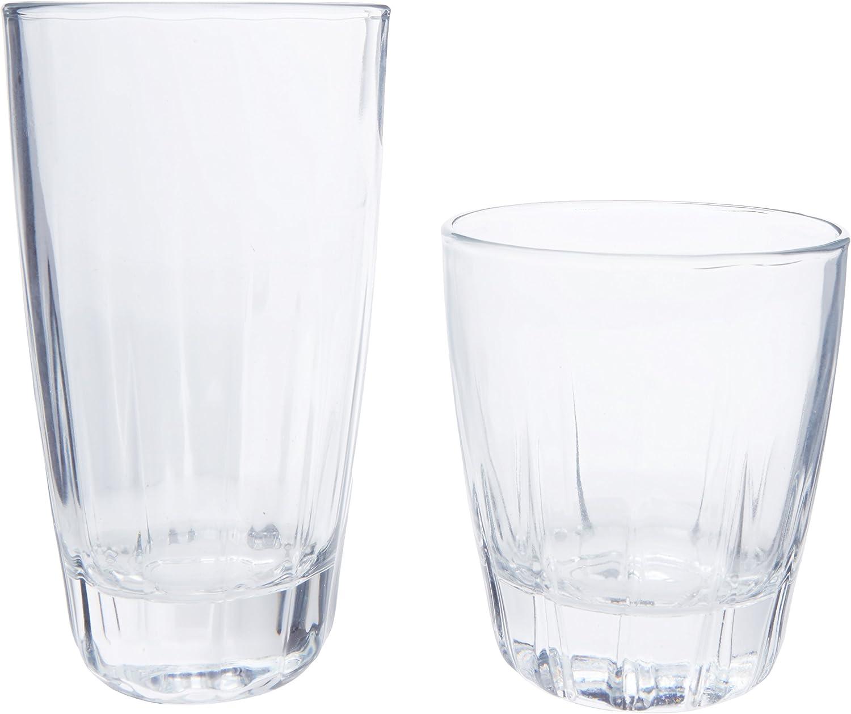Libbey 16-pc. Haligan Glassware Set