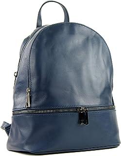 modamoda de T137 - ital Damen Rucksacktasche aus Leder