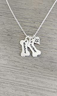 dog bone necklace