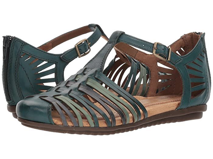 Vintage Sandals | Wedges, Espadrilles – 30s, 40s, 50s, 60s, 70s Cobb Hill Cobb Hill Inglewood Hurache Legion Blue Multi Womens Shoes $59.99 AT vintagedancer.com