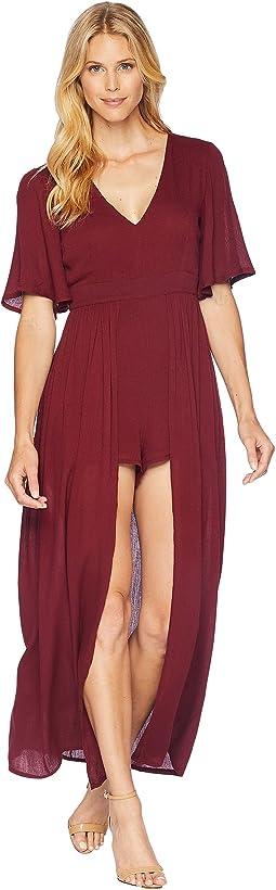 American Rose Aliana Short Sleeve Romper