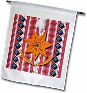 3dRose fl_23792_1 Cherokee Nation Garden Flag, 12 by 18-Inch