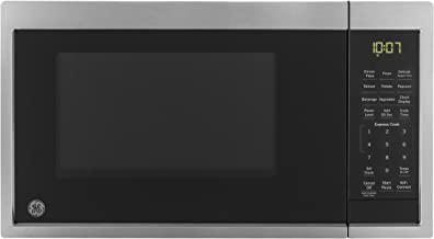 Sponsored Ad - GE JES1097SMSS 0.9 Cu. Ft. Capacity Smart Countertop Microwave Oven with Scan-To-Cook Technology, WiFi Conn...
