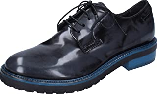 MOMA Oxfords Womens Leather Grey