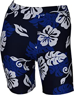 Women Pluse Size UPF 50+ Skinny Shorts Swim Pants Rash Guard