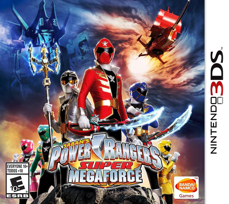 Power Rangers Super MegaForce Memphis Mall 3DS Nintendo - New product type