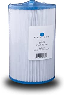 Cascati Pool Spa Filter Cartridge 6CH-47 Replaces Unicel 6Ch-47, Filbur FC-0315, Pleatco PTL47W-P4 Top Load 47 Sq. Ft.