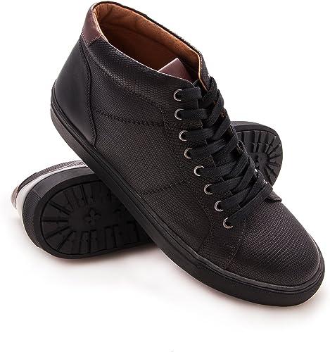 Zerimar Chaussures élégantes en Cuir Cuir Cuir pour Homme 37d