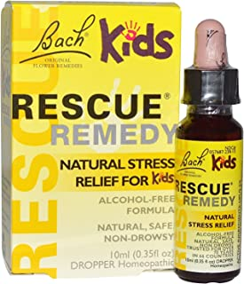Bach Remedies Bach Flower Remedies - Kids Rescue Remedy, 10 Milliliter - Pack Of 3