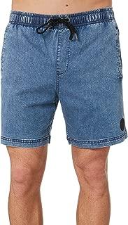 Santa Cruz Men's Bleacher Mens Denim Short Blue