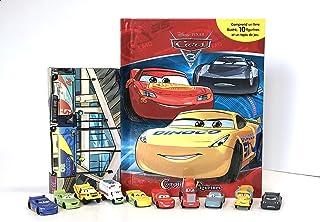 Phidal- Disney Cars Comptines et Figurines (2020 Nouvelle Édition), Français