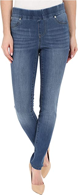 Liverpool Sienna Pull-On Contour 4-Way Stretch Super Skinny Legging Jeans in Hydra Stone Blue