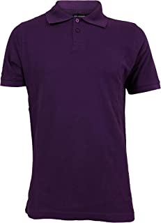 Contender Mens Solid Pique Polo Short Sleeve Shirt