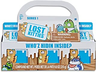Lost Kitties - 3 Surprise Cartons - Inc 3 Collectible Doll Like Kittens, Modelling Dough & Acc - Kids Toys - Ages 5+