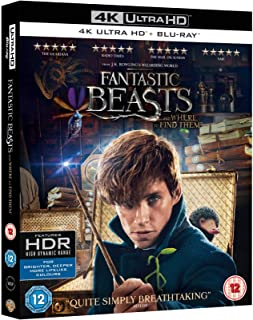 Fantastic Beasts And Where To Find Them | 4K + Blu-ray | Arabic Subtitle Included