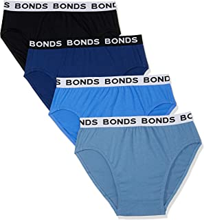 Bonds Men's Underwear Hipster Brief, 10 Pack