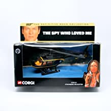 James Bond Stromberg Helicopter The SPY WHO Loved ME 2001 Corgi Classics 007 The Definitive Collection Die-Cast Vehicle