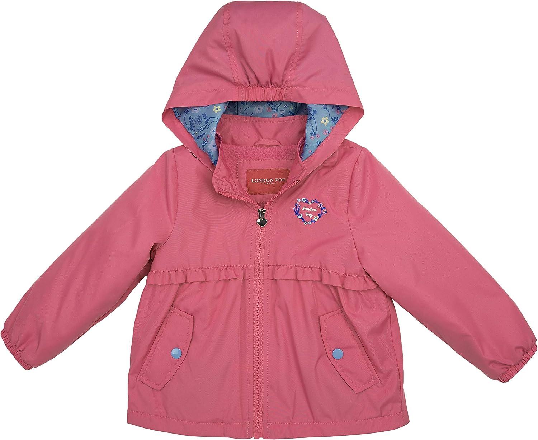 LONDON FOG Girls' Reversible Max 68% OFF Sensible Soft Coat Jacket Ranking TOP11