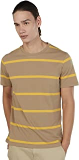 Iconic Men's 2300341 RIO Knitted T-Shirt, Beige