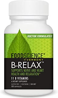 B-Relax, Nervous System, Mood and Relaxation Support Supplement, 60 capsules