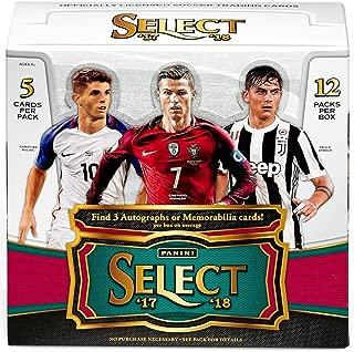 panini select soccer 2017 2018